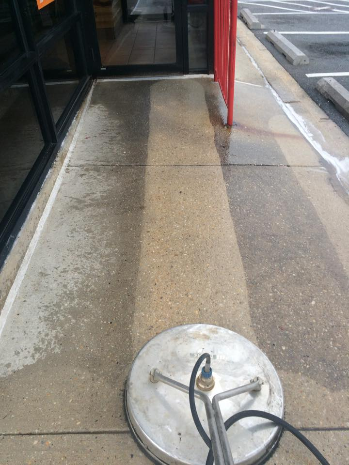 Pressure Washing Restaurants Maryland