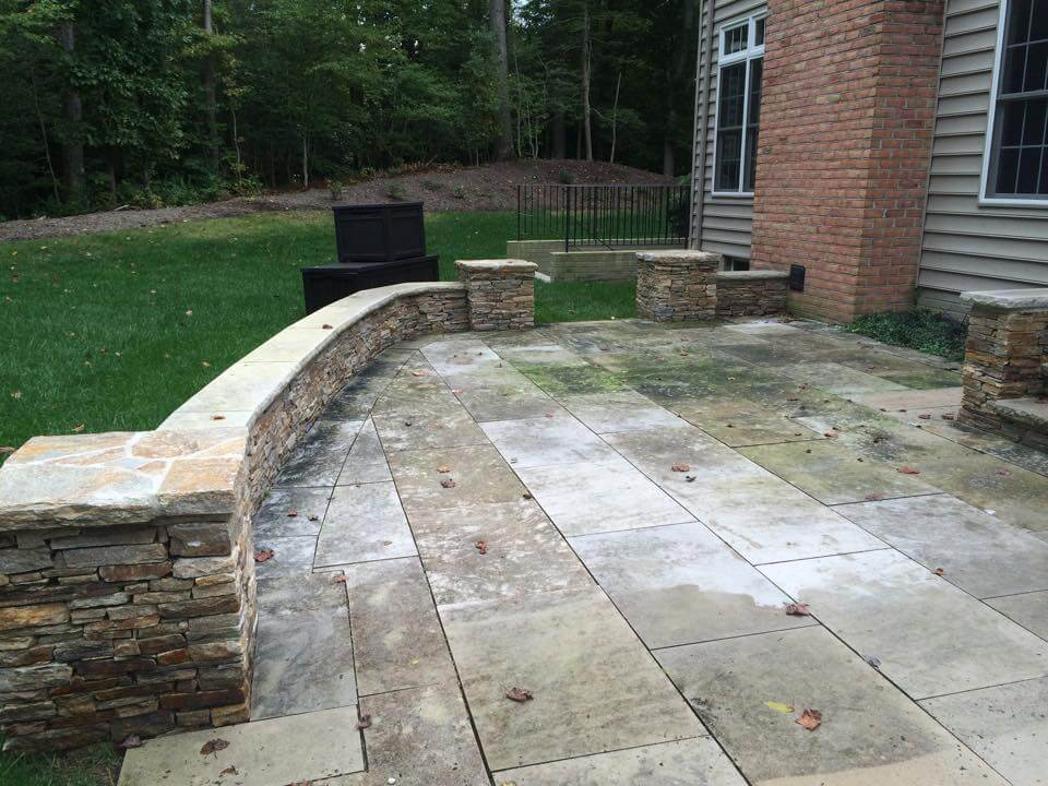 Concrete cleaning in maryland md power wash md power wash for Concrete cleaning service