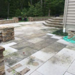 Paver Cleaning Before